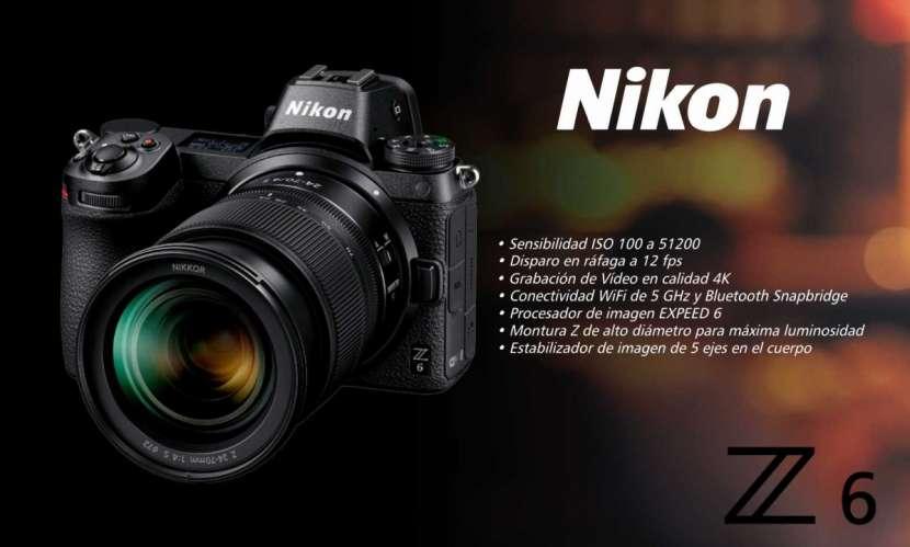 Cámara Nikon Z6 Kit 24-70mm. f/4 S - 0