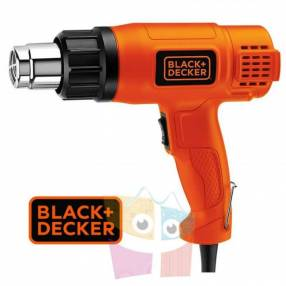 Pistola de calor 1.500W 540°C Black+Decker HG1500