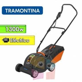 Corta pasto motor eléctrico 1300 W Tramontina chasis metalico