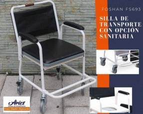 Silla de transporte con opción sanitaria