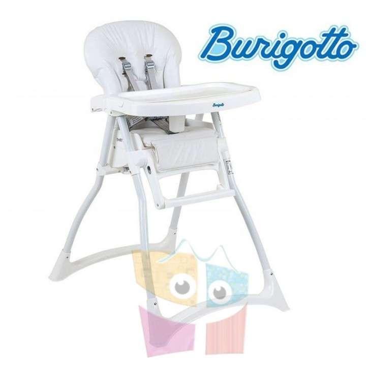 Sillita de alimentación Burigotto Merenda blanca - 0