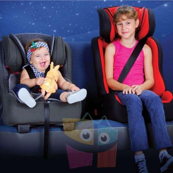 Asiento para autos para bebés y niños Burigotto Multipla Dot beige - 4
