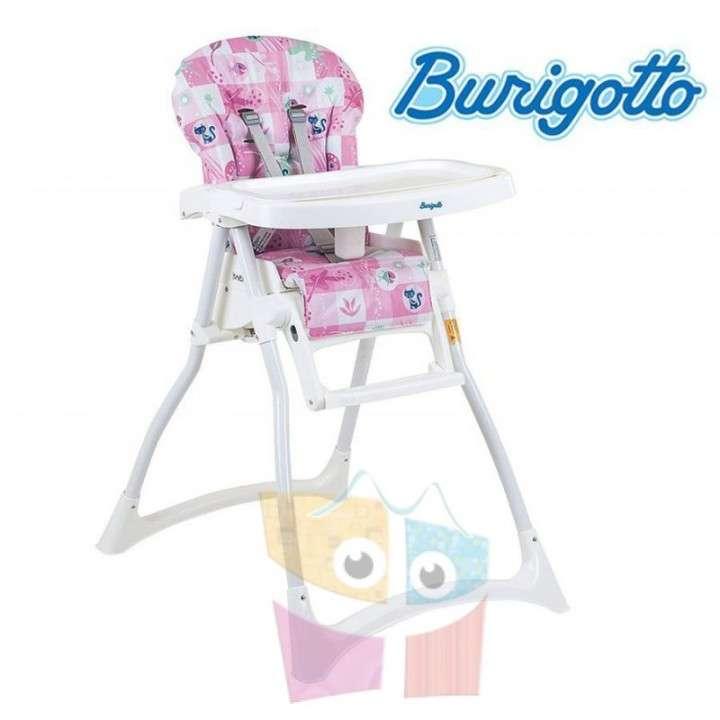 Sillita de alimentación Burigotto Merenda Peixinho rosa - 0