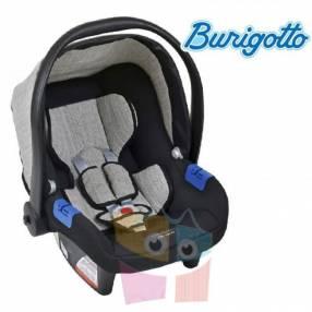 Baby seat Burigotto Touring X mezclado gris