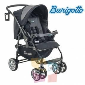 Carrito de bebé Burigotto AT6 K negro gris