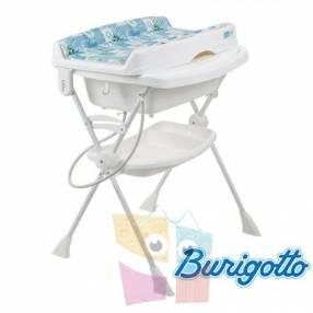 Bañera con cambiador y asiento reductor Burigotto Splash