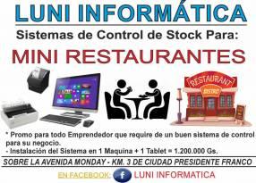 Sistema de control de stock y facturación a medida