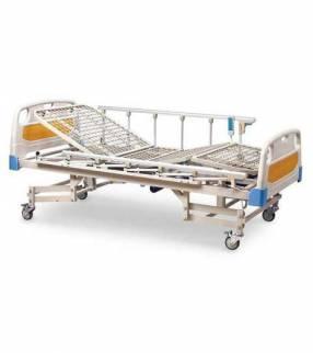 Cama hospitalaria de 5 movimientos eléctrica con colchón de base