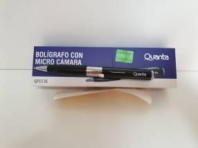 Bolígrafo con Micro Cámara