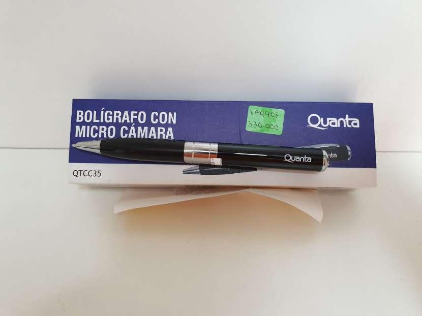Bolígrafo con Micro Cámara - 0