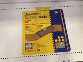 Cuchilla Corta Diamantes