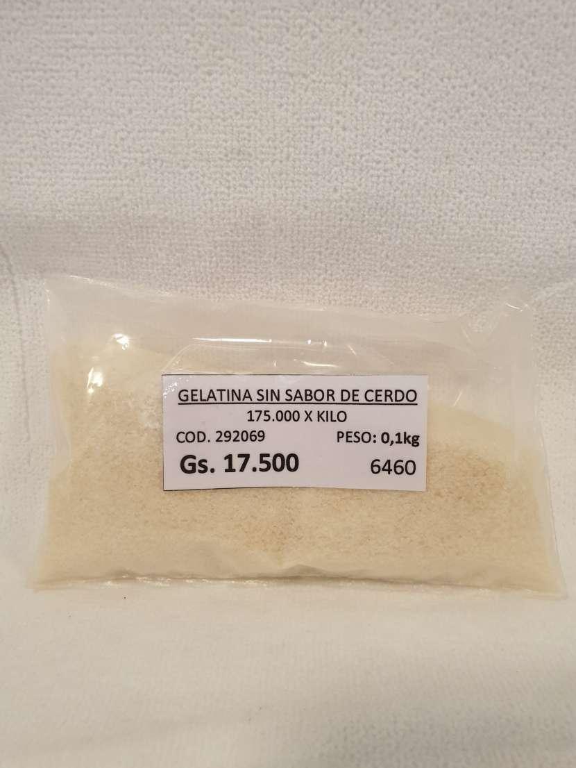 Gelatina sin Sabor de Cerdo 0.1kg - 0