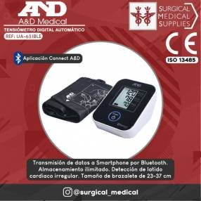 Tensiómetro digital adulto UA-651BLE