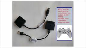 Adaptador para control Sony PS1 PS2 PS3 PlayStation Dualshock