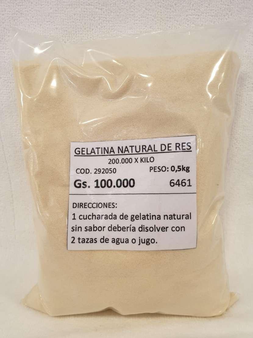 Gelatina Natural de Res 0.5kg - 0