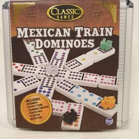 Dominós Estilo Mexicano con Trenes