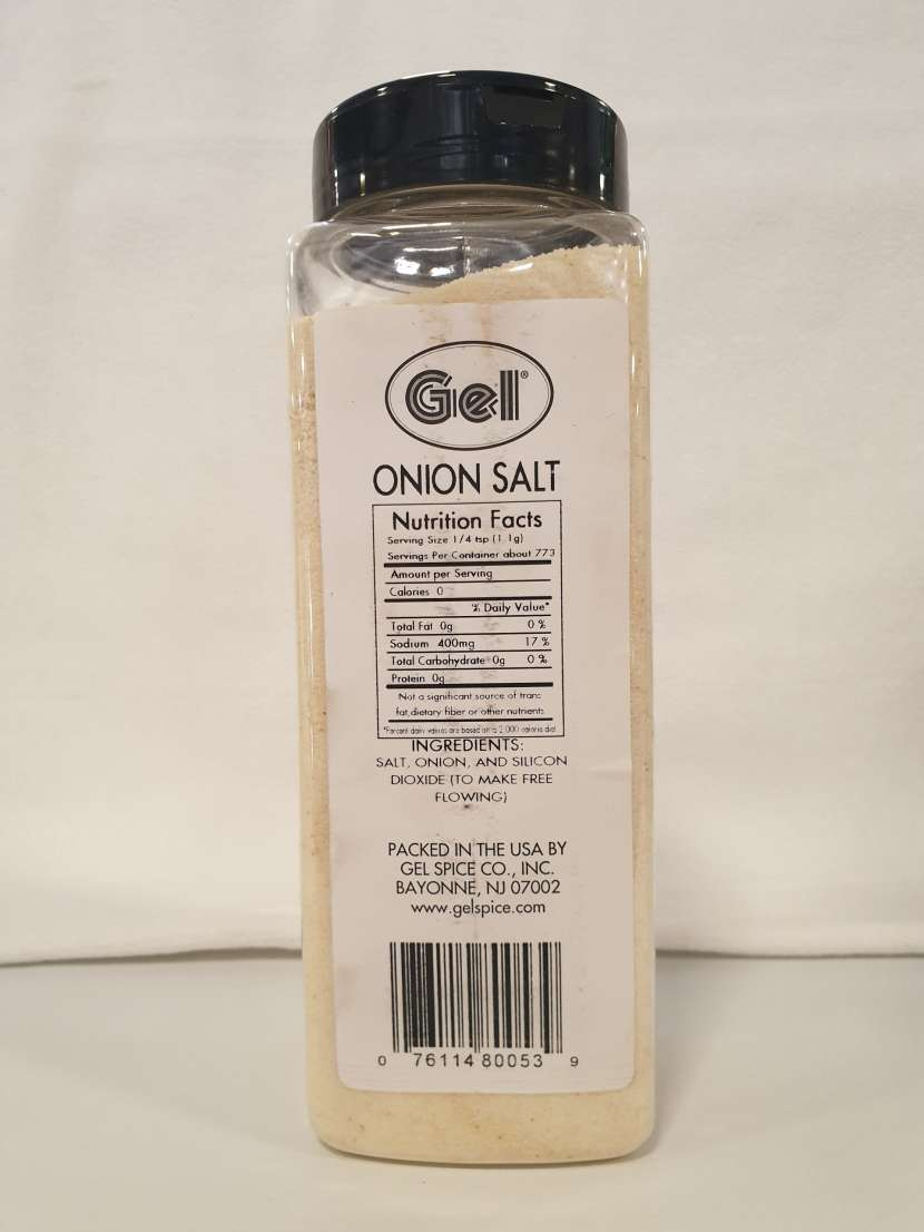 Sal de cebolla Onion Salt - 0