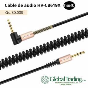 Cable Auxiliar para Audio 3.5mm