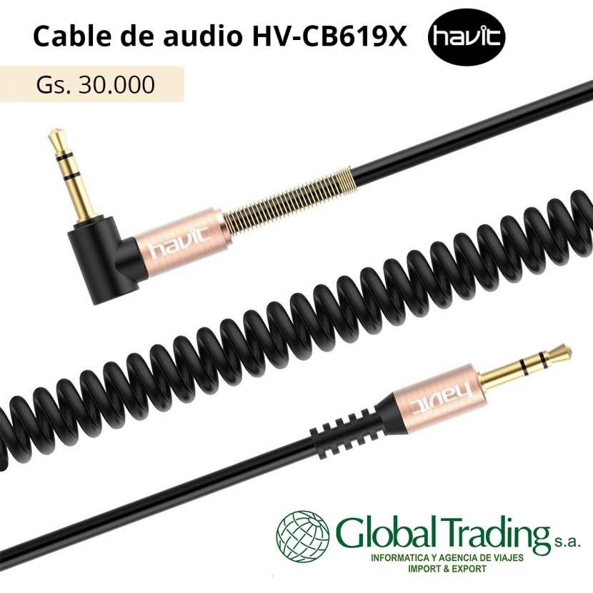 Cable Auxiliar para Audio 3.5mm - 0