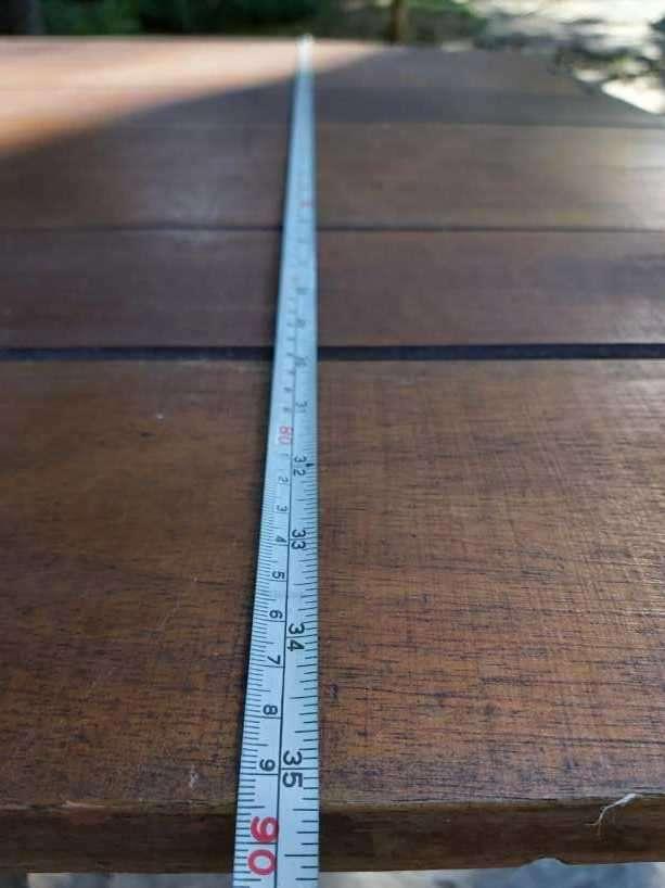 Tablón con 12 sillas plegables - 7