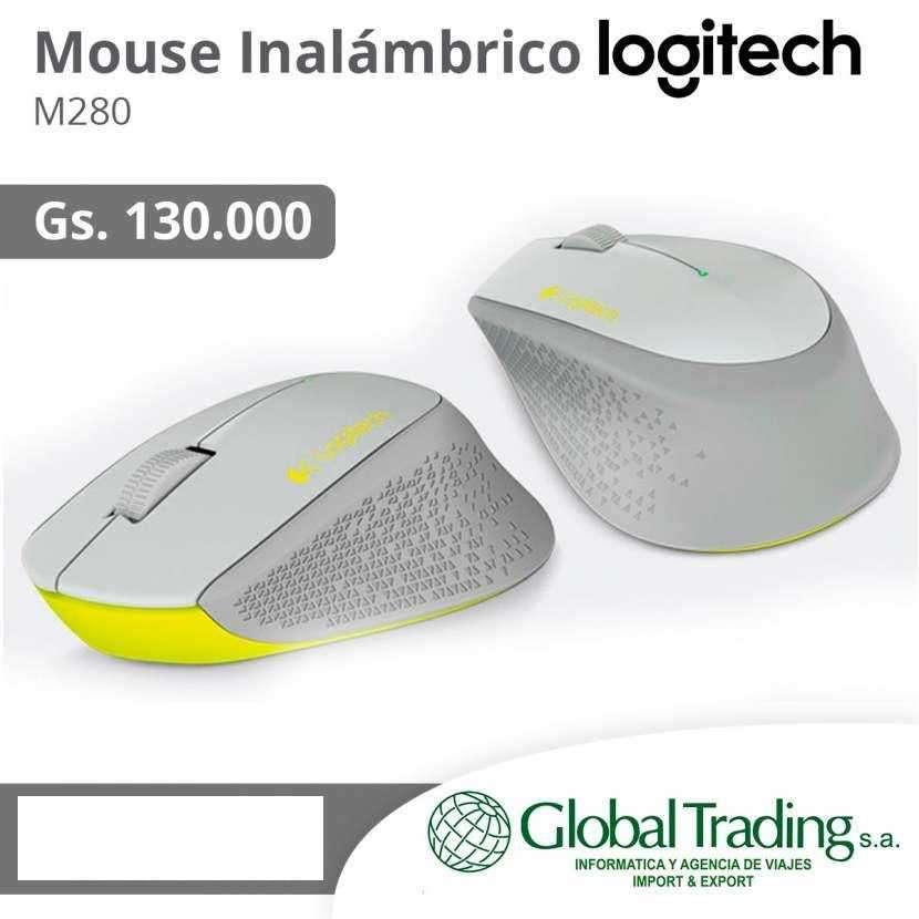 Mouse Inalámbrico Logitech - 0