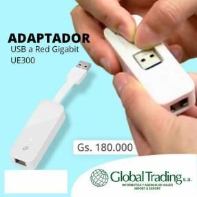 Adaptador USB a Red Gigabit