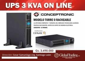 UPS de 3 kVA Online