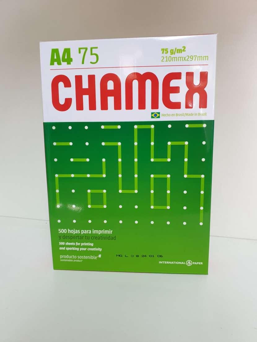Resma de Hojas A4 Chamex - 0