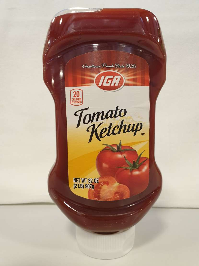 IGA Salsa de Tomate - Ketchup - 1