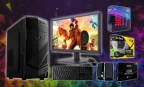 PC de escritorio Intel Core i7 1050TI