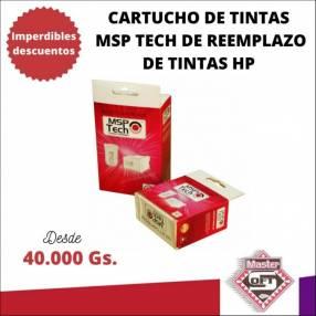 Tintas compatibles para impresoras HP