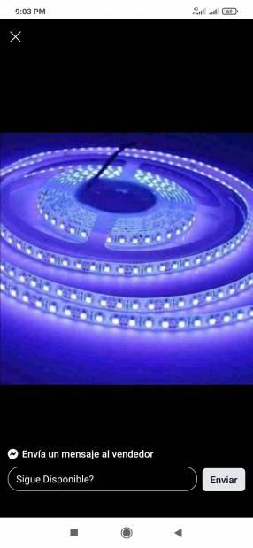Luz LED tira de 5 metros color blanco