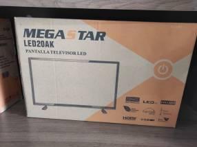 TV LED 20 pulgadas analógico Mega Star