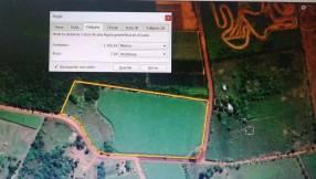 Propiedad 7,6 hectáreas camino a Villeta