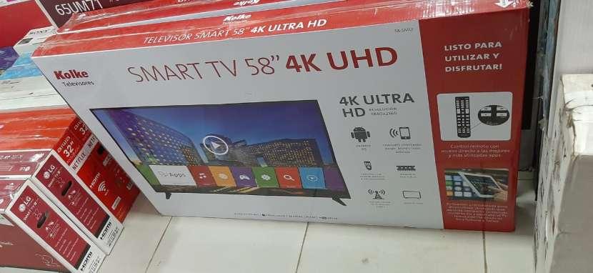 Smart TV Kolke UHD 4K de 58 pulgadas - 0