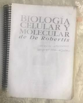 Robertis biología edición vieja
