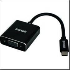 Maxell USB-C – VGA Adapter