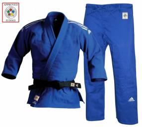 Kimono Judogi homologado azul blanco