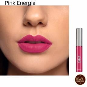 Eudora soul Kiss me labial líquido mousse mate Pink energía