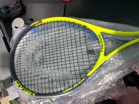 Raquetas nuevas y usadas
