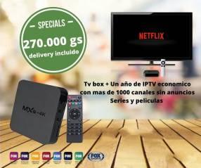 Tvbox + iptv