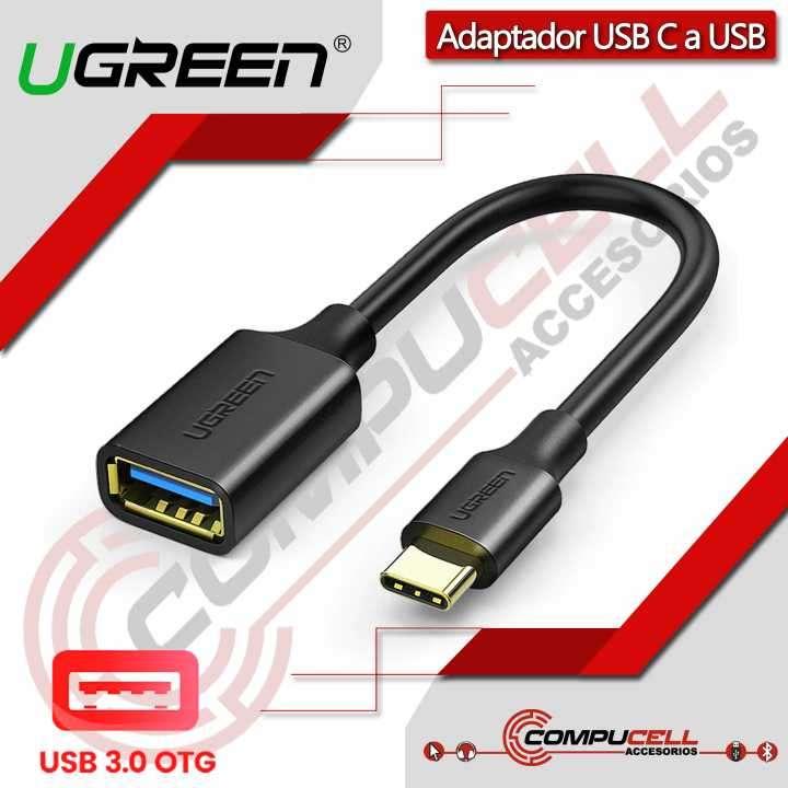 Adaptador USB Tipo-C a USB 3.0 UGREEN - 0