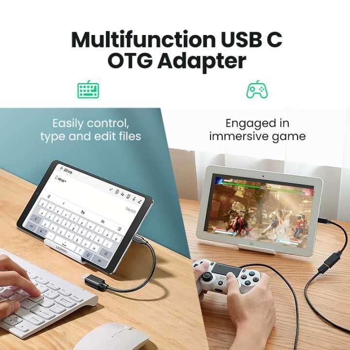 Adaptador USB Tipo-C a USB 3.0 UGREEN - 4