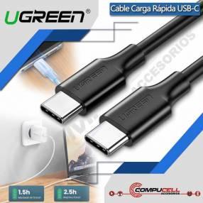 Cable USB tipo C a USB tipo C para Carga Rápida