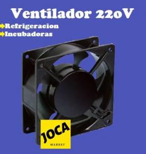 Ventilador 220V para Incubadoras y Refrigeración