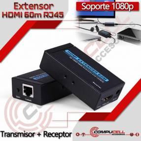 Extensor HDMI 60m RJ45