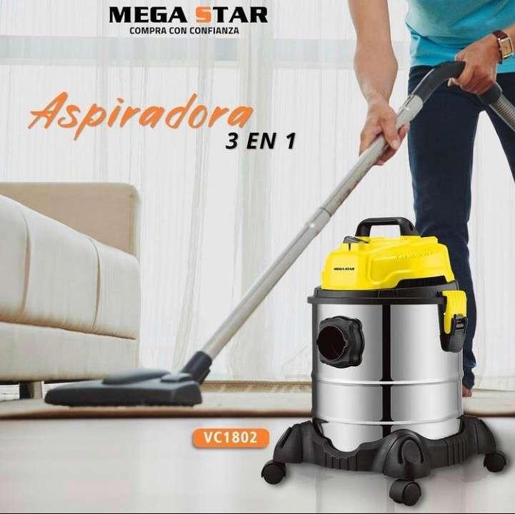 Aspiradora Megastar 3 en 1 - 0