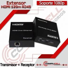 Extensor HDMI 120m RJ45