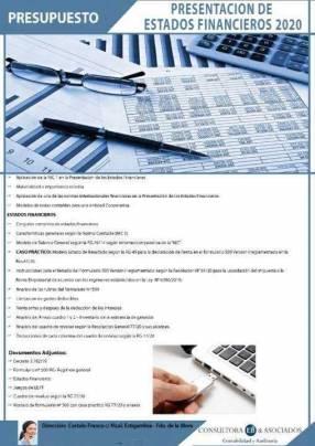 Material de Presentación de Estados Financieros