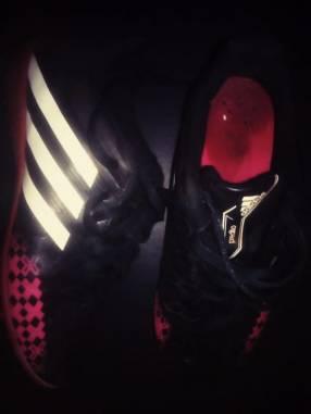 Calzado Adidas Negro calce 38